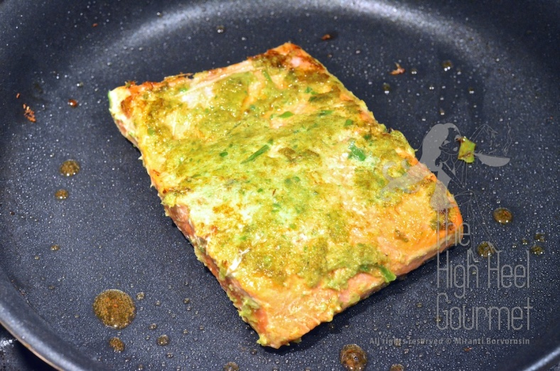Thai Style Salmon with Garlic Chilies and Lime by The High Heel Gourmet 6