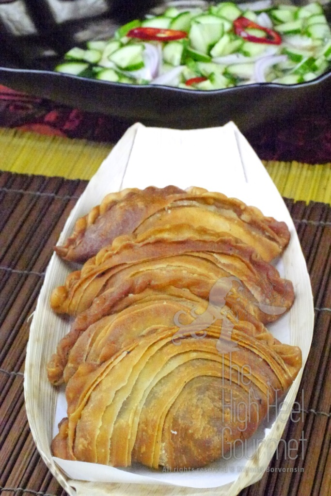 Curry Puff filled with Curry Chicken and Potato, This Karipap Gai by The High Heel Gourmet 2