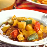 Thai Sweet and Sour Stir-Fry, Pad Priew Wan