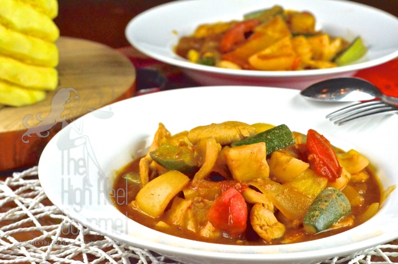 Thai Sweet and Sour Stir-Fry, Pad Priew Wan by The High Heel Gourmet
