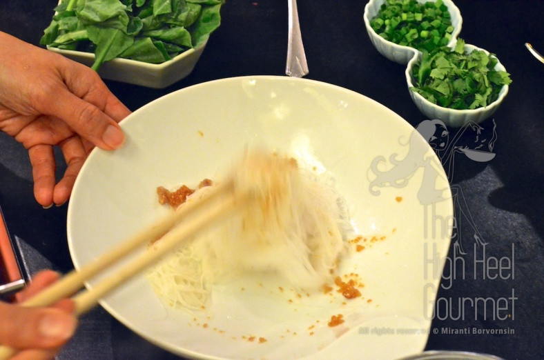 Thai Pork Noodles - Guay Tiew Moo by The High Heel Gourmet 14
