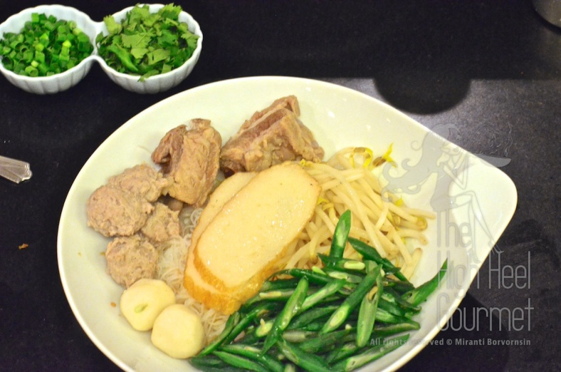 Thai Pork Noodles - Guay Tiew Moo by The High Heel Gourmet 20