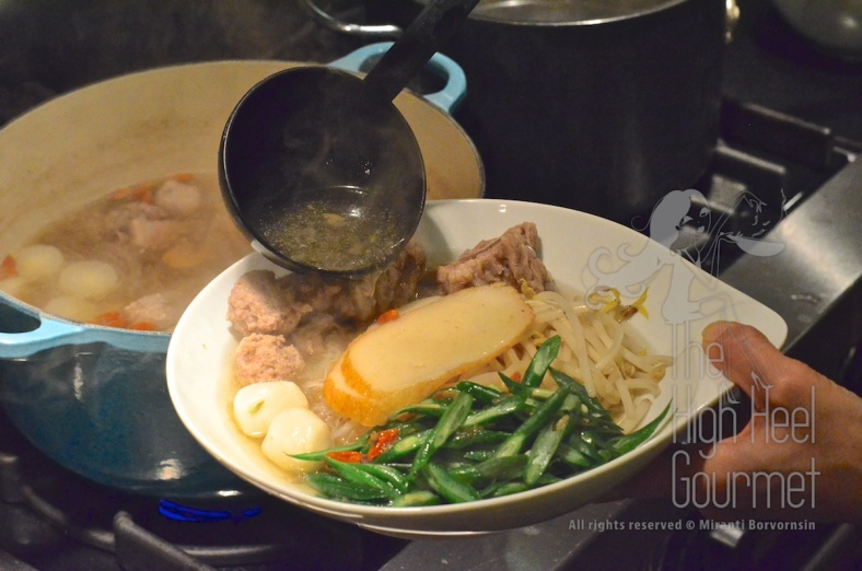 Thai Pork Noodles - Guay Tiew Moo by The High Heel Gourmet 21