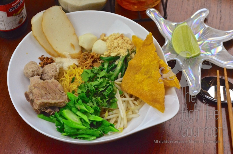 Thai Pork Noodles - Guay Tiew Moo by The High Heel Gourmet 23