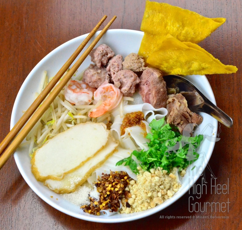 Thai Pork Noodles - Guay Tiew Moo by The High Heel Gourmet 25