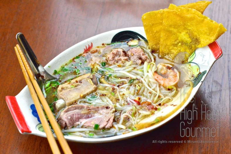 Thai Pork Noodles - Guay Tiew Moo by The High Heel Gourmet 26