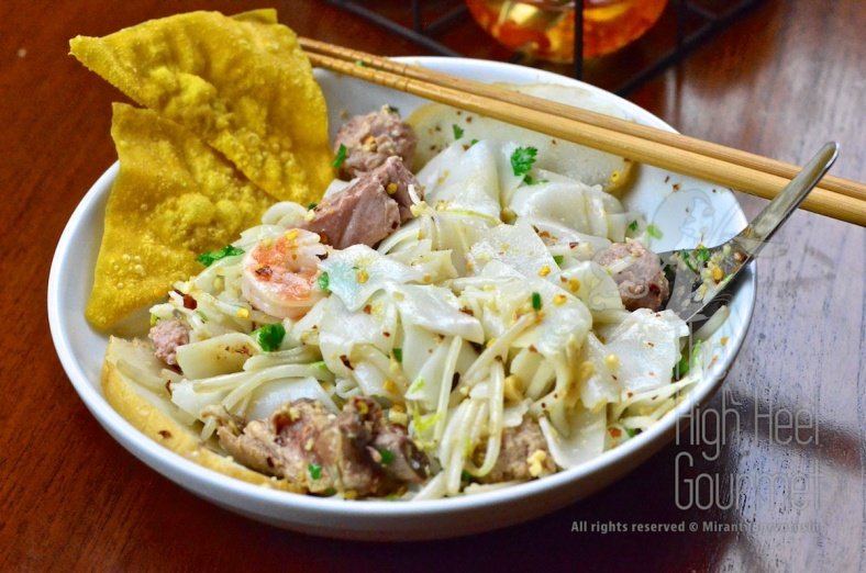 Thai Pork Noodles - Guay Tiew Moo by The High Heel Gourmet