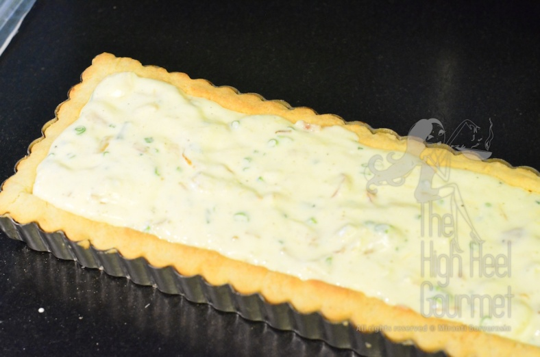 Quiche Tart with Peach by The High Heel Gourmet 11