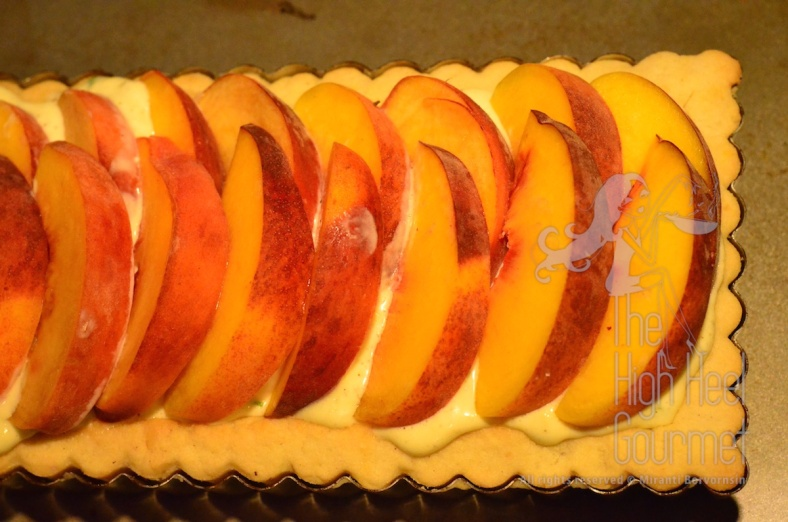Quiche Tart with Peach by The High Heel Gourmet 12