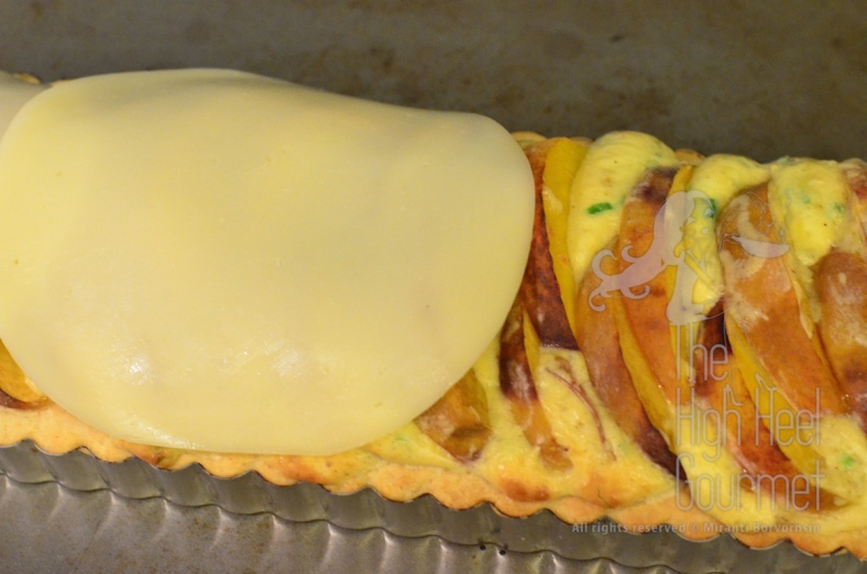 Quiche Tart with Peach by The High Heel Gourmet 13