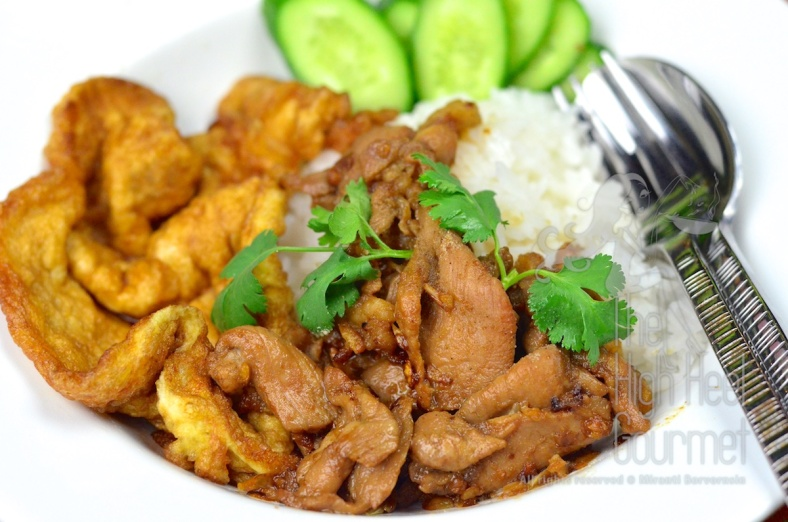 Thai Fried Pork with Garlic and Pepper - Moo Todd Kratiam Phrik Thai by The High Heel Gourmet 9