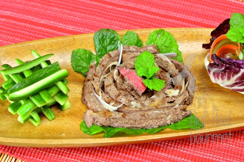 Thai Grilled Beef Salad - Yum Neau Yang by The High Heel Gourmet 12