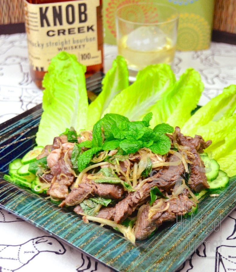 Thai Grilled Beef Salad - Yum Neau Yang by The High Heel Gourmet 13