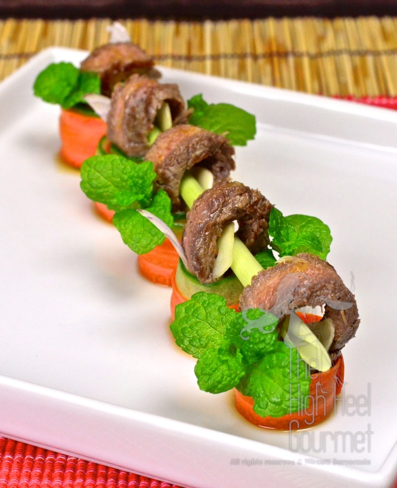 Thai Grilled Beef Salad - Yum Neau Yang by The High Heel Gourmet 14