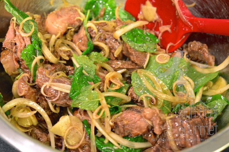 Thai Grilled Beef Salad - Yum Neau Yang by The High Heel Gourmet 6