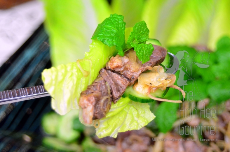 Thai Grilled Beef Salad - Yum Neau Yang by The High Heel Gourmet 9