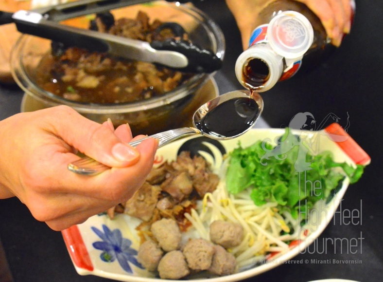 Guay Tiew Neau Toon - Authentic Thai Slow Cook Beef with Noodles by The High Heel Gourmet 7
