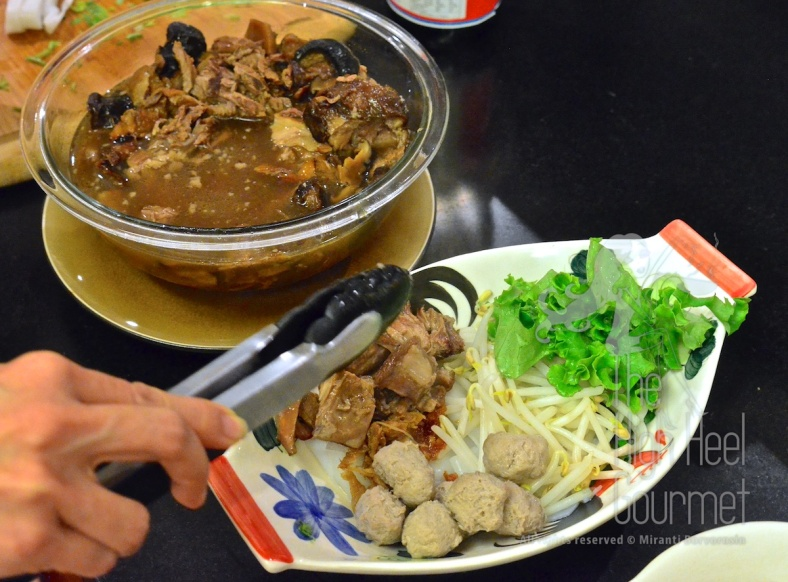 Guay Tiew Neau Toon - Authentic Thai Slow Cook Beef with Noodles by The High Heel Gourmet