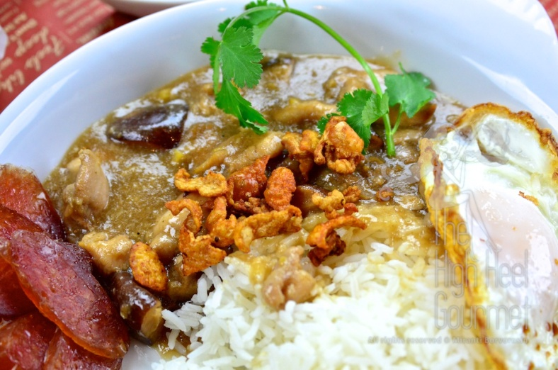 Chicken in Gravy Over Rice - Thai Khao Na Gai by The High Heel Gourmet 6