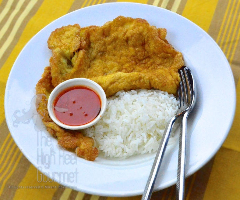 Thai Plain Deep Fried Omelette - Standard Khai Jiao by The High Heel Gourmet 3 (1)