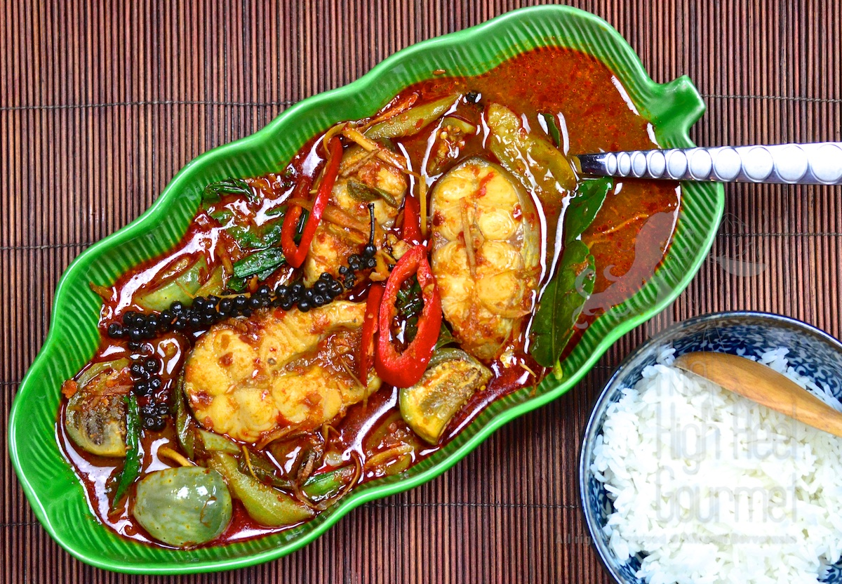 Authentic Thai Jungle Curry with Cat Fish, Kaeng Pa Pla ...