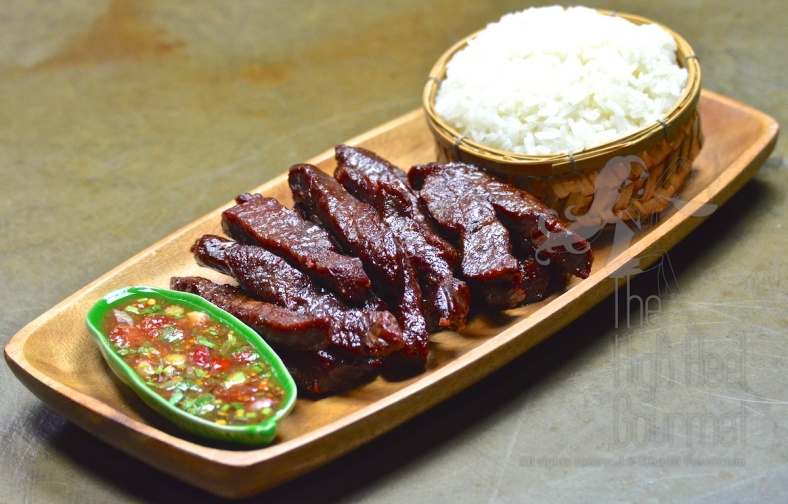 Thai style fried sun-dried beef jerky – Neau Dad Deaw by The High Heel Gourmet 11