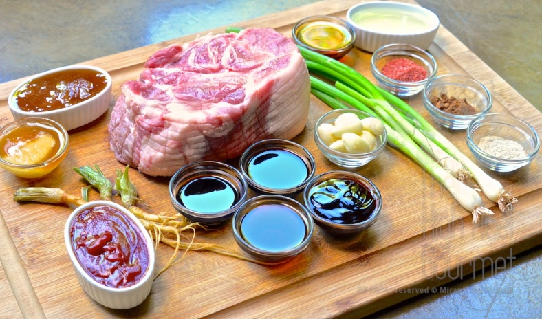 Chinese Barbeque Pork - Thai Style, Moo Dang by The High Heel Gourmet 1 (1)