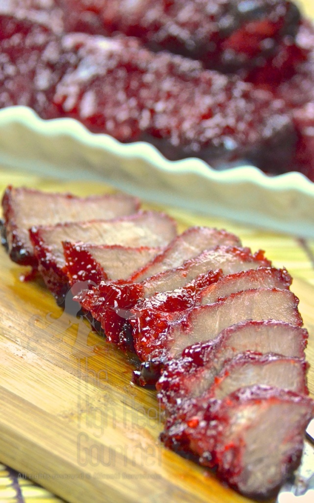 Chinese Barbeque Pork - Thai Style, Moo Dang by The High Heel Gourmet 3