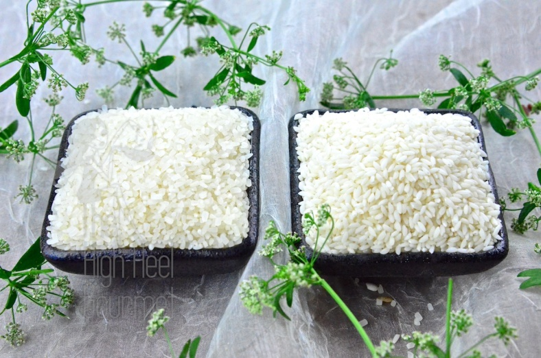 These two are interesting. One of the left is the Vietnamese Broken Rice and one of the right is the Tiny rice.