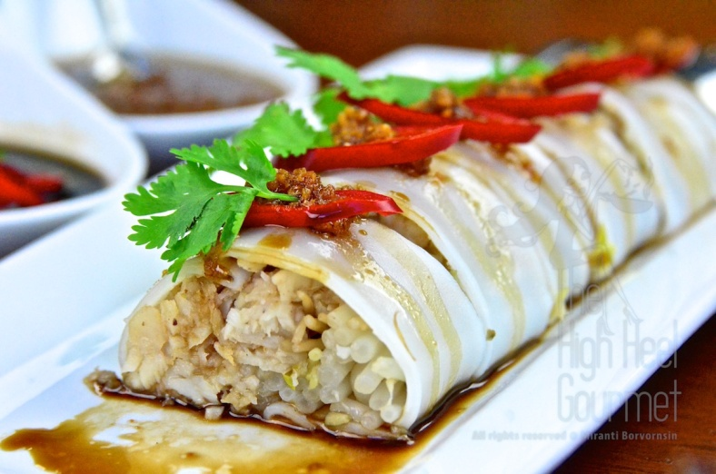 Thai Cannelloni with Fish - Guay Tiew Lhord Pla by The High Heel Gourmet 2