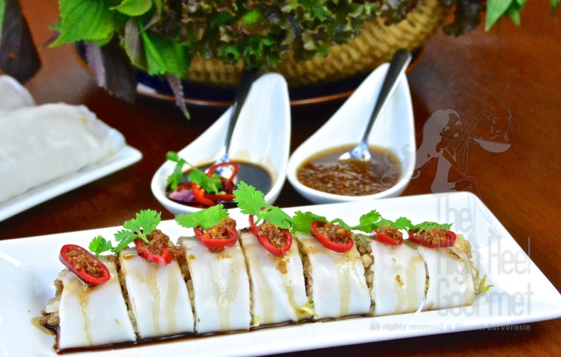 Thai Cannelloni with Fish - Guay Tiew Lhord Pla by The High Heel Gourmet